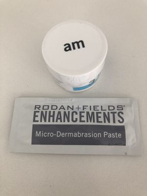 Rodan and Fields Redefine AM cream + Microdermabrasion paste sample for Sale in Plano, TX