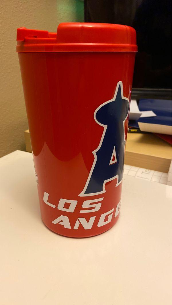 34oz Custom Angels Travel Mug