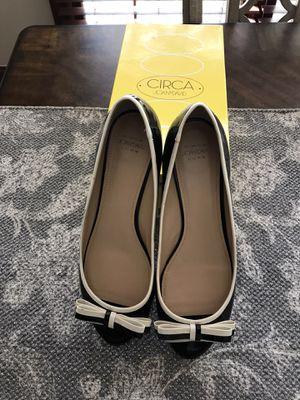 Black& Cream Wedge Heel. Sz 9.5 for Sale in Urbana, OH