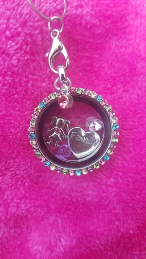 Floating charm necklace for Sale in El Paso, TX
