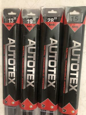 Windshield wipers SIZES 13-28 for Sale in Antelope, CA