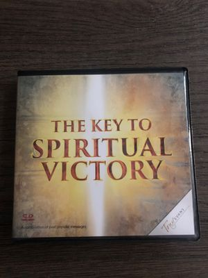 Dr Tony Evans The Key to Spiritual Victory 10 CD Sermons for Sale in Las Vegas, NV