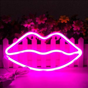 Lips Neon Sign Room Decor Lights for Sale in Houston, TX
