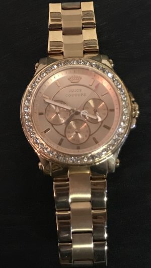 Juicy Couture Women's Pedigree Rose-Gold Chronograph Watch for Sale in Buena Park, CA