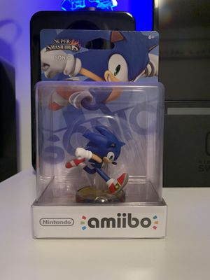 Sonic Super Smash Bro's Amiibo for Sale in Carlsbad, CA