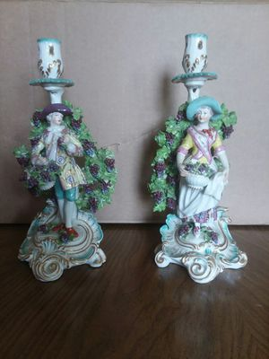 French candelabras Girl and Boy for Sale in GARDEN CITY P, NY
