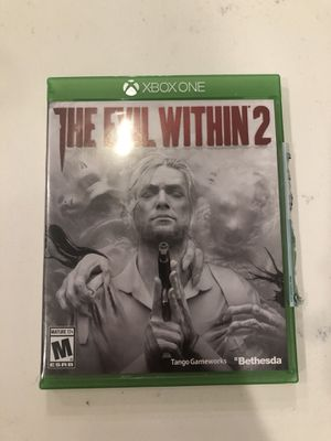 The evil within 2 Xbox one for Sale in Huntersville, NC