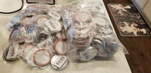 Canning jar lids - regular size for Sale in Ridgefield, WA