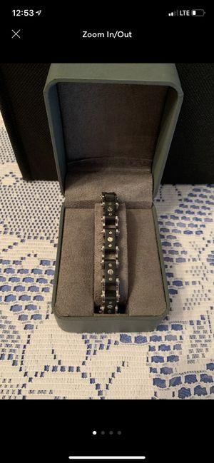 Men's chisel bracelet for Sale in Trenton, NJ