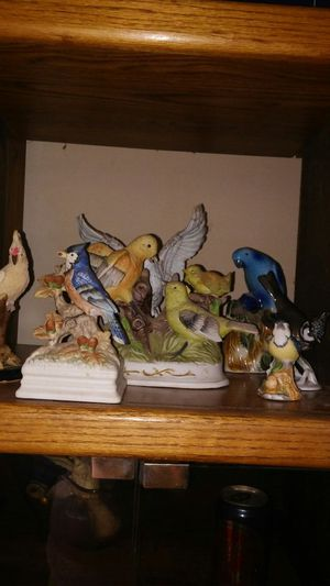 Birds collection statues for Sale in Sacramento, CA