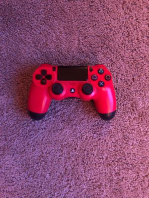 Red ps4 controller for Sale in San Diego, CA