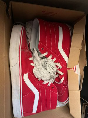 Red vans s11.5 for Sale in Miami, FL