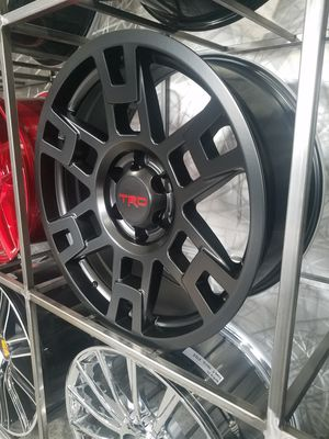 17x8 6x149 et5 TRD rep wheel fits 4runner trd off road sr5 limited trd pro trail rim wheel tire shop for Sale in Phoenix, AZ