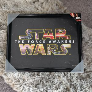 14in x 18in Star Wars Awakening Printed Canvas Artwork for Sale in Las Vegas, NV