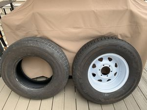 Trailer Tires x4 225x18x16 for Sale in Belcamp, MD