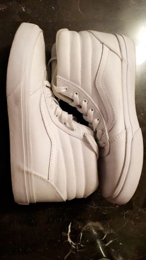White Vans high tops for Sale in Menlo Park, CA