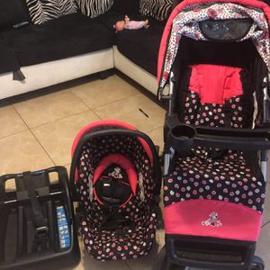 Minnie Mouse Stroller Set for Sale in Houston, TX