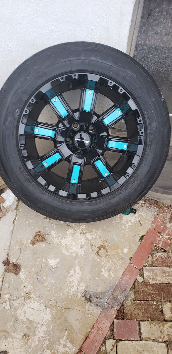 18 inch wheel new tires!!