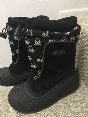 Snow boots, kids size 2 , price as marked for Sale in San Diego, CA
