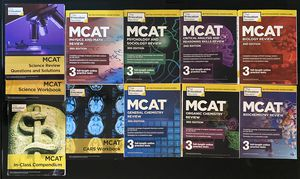 MCAT Study Material for Sale in Dedham, MA