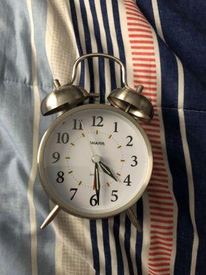 Stainless Steel Alarm Clock for Sale in La Puente, CA