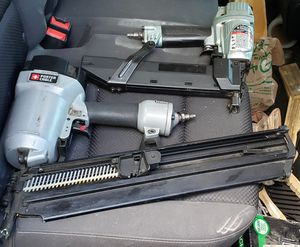 Nail gun and stapler with nails and staples for Sale in Casselberry, FL