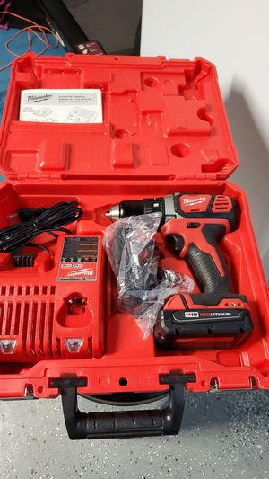 """Milwaukee drill/driver 1/2"""" for Sale in Fontana, CA"""