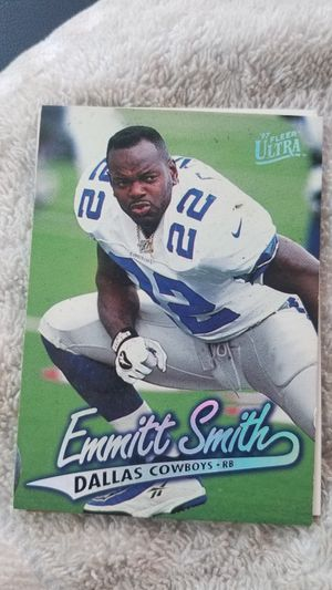 Emmitt Smith 1997 Fleer card. for Sale in Houston, TX