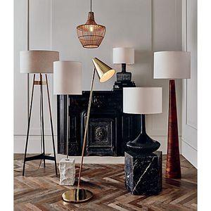CB2 brass floor lamp for Sale in Miami Shores, FL