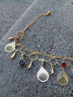 "Gold ankle bracelet $15 ""seashells"" for Sale in San Diego, CA"