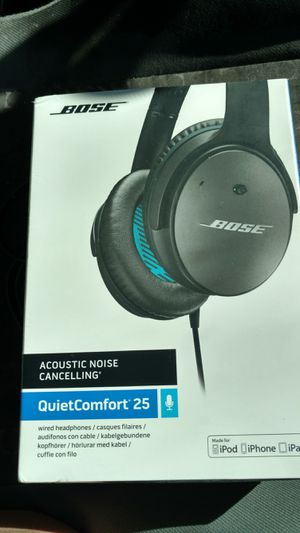 Bose quietcomfort 25 made for iPhone for Sale in Vista, CA