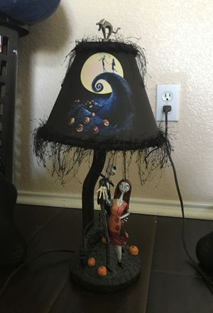 Nightmare Before Christmas collectible lamp for Sale in Duncanville, TX