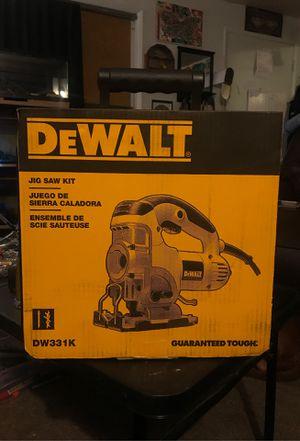 Dewalt jig saw kit. Model # DW331K for Sale in Beaverton, OR