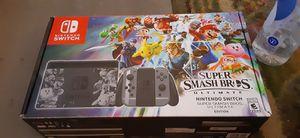 Limited edition Super Smash Bros Nintendo switch bundle for Sale in Fresno, CA
