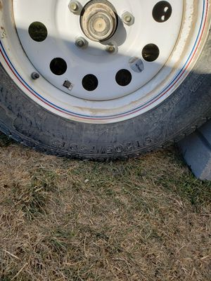 3 tires only tires size st205 75d15 for Sale in Eagle Mountain, UT