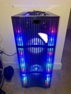 Bluetooth speaker 🔊 equalizer karaoke 🎤 for Sale in Annandale, VA