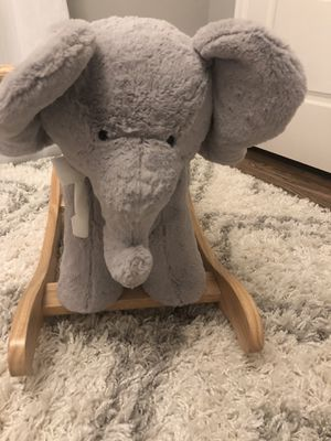 Rocking toy - elephant - pottery barn for Sale in Denver, CO