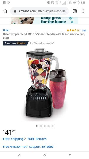 ✨✨ BEAUTIFUL OSTER BLENDER for Sale in Seattle, WA