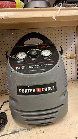 Porter 1.5 Gallon Cable Air Compressor for Sale in Austin, TX