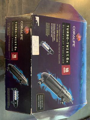 Coralife UV sterilizer 18 watt for Sale in Wylie, TX