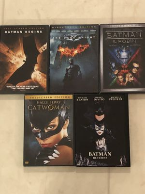5 Batman / Cat-woman Movies for Sale in Smyrna, TN