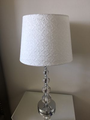 Modern lamp & lamp shade for Sale in Miami, FL