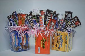 Candy chocolate bouquets! Gift! Graduation! Birthday! for Sale in Dearborn Heights, MI