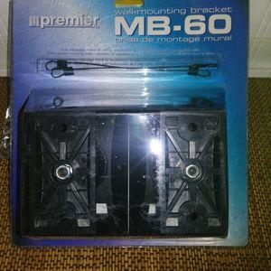 MB-60 Paradigm Premier Speaker Wall Mount Bracket Pair Adjustable Swivel NEW for Sale in Pahrump, NV