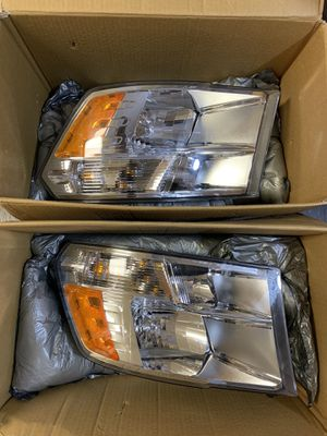 Dodge Ram Replacement Headlights 2010-2018 for Sale in San Jose, CA