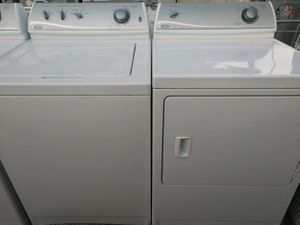"""MAYTAG"" MATCHING SET WASHER AND ELECTRIC DRYER HEAVY DUTY SYSTEM OVERSIZE CAPACITY PLUS for Sale in Phoenix, AZ"
