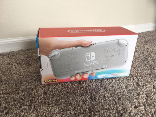 Nintendo switch lite New Pokémon