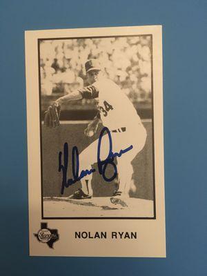 Nolan Ryan for Sale in Chino Hills, CA