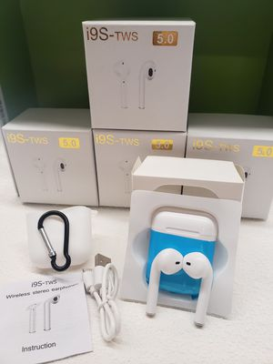 NEW i9s tws Earbuds Mini Wireless Bluetooth Earphones for android iPhone for Sale in Lynn, MA