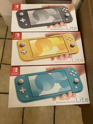 Brand new Nintendo Switch Lite / 32 GB for Sale in Boston, MA